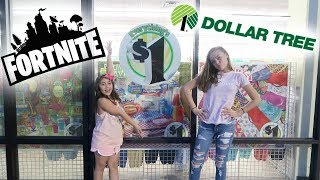 10 ITEMS IN 10 MINUTES AT DOLLAR TREE CHALLENGE! FORTNITE EDITION!