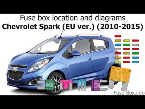 fuse box location and diagrams chevrolet spark (eu ver ) (m300fuse box  location and