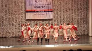 Сиреневая группа  «Выходило красно солнышко» Образцовый ансамбль танца «Надежда»