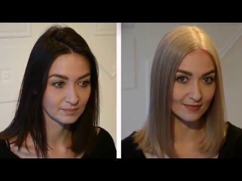 how to become blonde from black hair