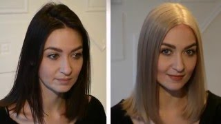 DARK HAIR TO ASH BLONDE. all the facts you NEED to know!