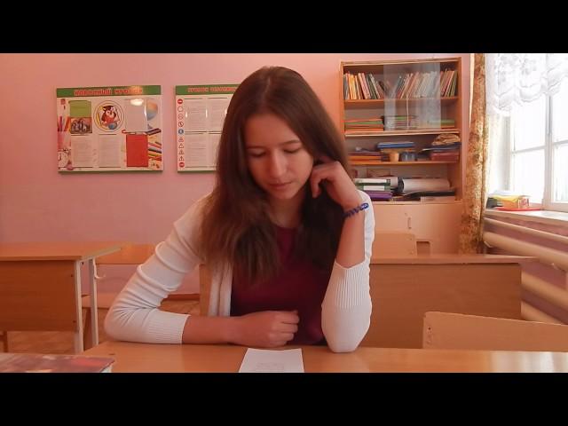 Изображение предпросмотра прочтения – ЯнаШерстобитова читает произведение «Серебро огни и блёстки» В.Я.Брюсова