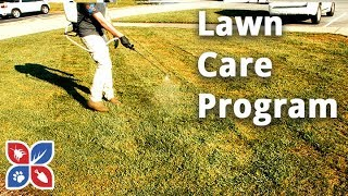 Do My Own Lawn Care  -  How to Plan a Lawn Care Program