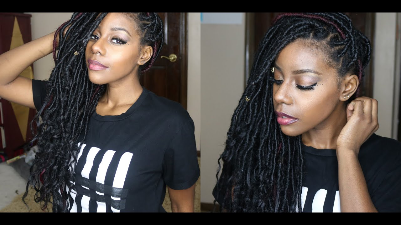 Diy Goddess Locs Youtube