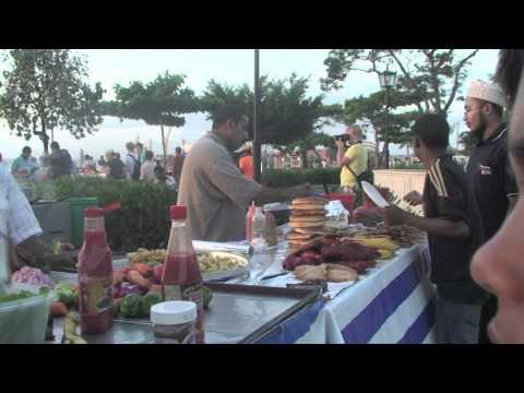 """Zanzibar Waterfront Food Court - """"Forodhani"""""""