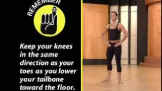 Pilates weight loss workout for Dummies clip