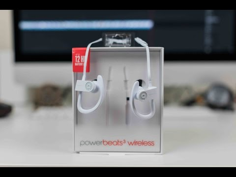 PowerBeats 3 Wireless Unboxing and First Impressions