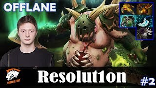 Resolution - Pudge OFFLANE | Dota 2 Pro MMR Gameplay #2