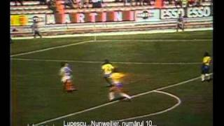 Gol Florea Dumitrache in Romania - Brazilia 2-3 (1970)