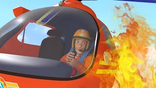 Fireman Sam US 🚒Helicopter Rescue | Best Moments | Fire Rescue 🔥 Kids Movie