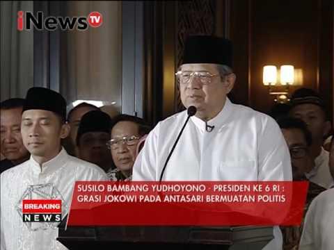 Susilo Bambang Yudhoyono : Tuduhan Antasari merusak nama baik saya - Breaking News 14/02