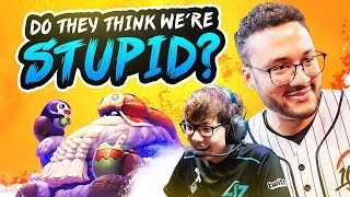 DO THEY THINK WE'RE STUPID? (ft. Huhi) | APHROMOO