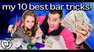 My Ten Best Bar Tricks (Secrets Revealed!) | Steve-O