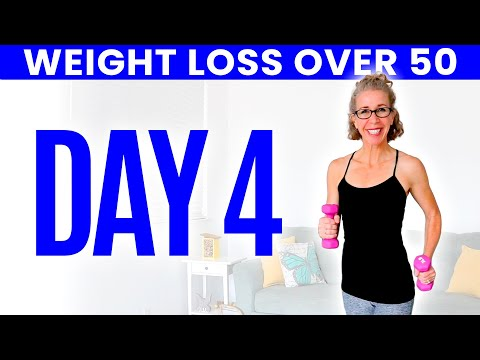20 Minute WALK with WEIGHTS Workout for Women over 50 ⚡️ Pahla B Fitness from YouTube · Duration:  22 minutes 54 seconds