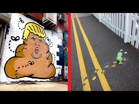 Funny and Creative Street Art around the world