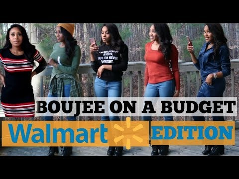 [VIDEO] - Walmart Boujee On a Budget | WALMART TRY ON HAUL 2019 | WINTER LOOKBOOK 1