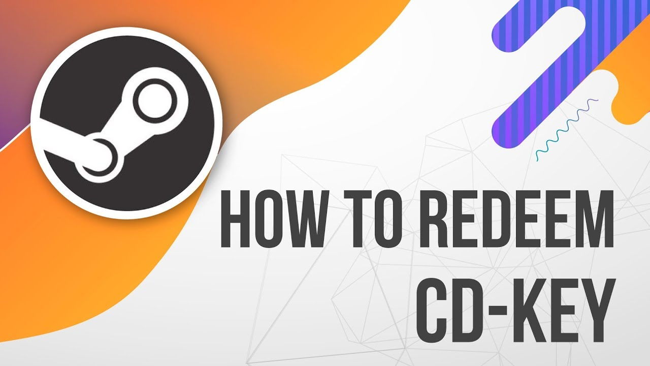 How to Redeem Code on STEAM | How to Active STEAM CD-KEY/How To Activate  Product Codes On Steam 2018