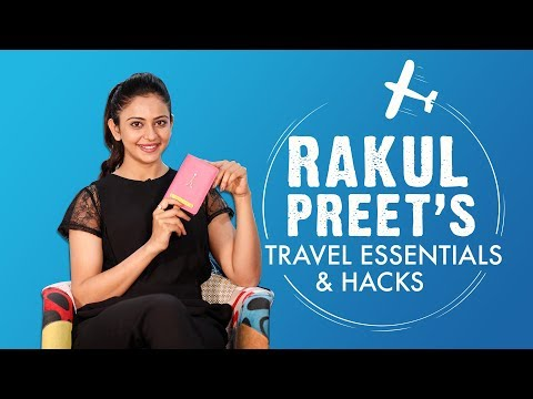 Rakul Preet's Travel Essentials & Hacks | S01E01 | Bollywood | Fashion | Pinkvilla