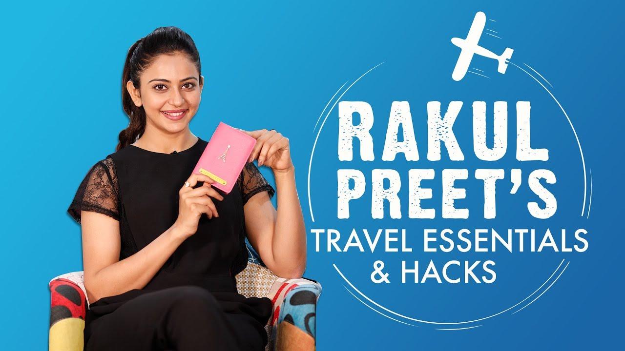Rakul Preet's Travel Essentials & Hacks | S01E01 | Bollywood | Fashion | Pinkvilla