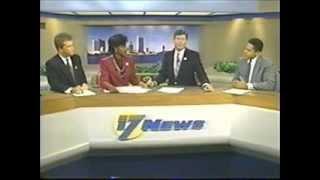 wjks 17 news live at 6 00pm 9 21 1989