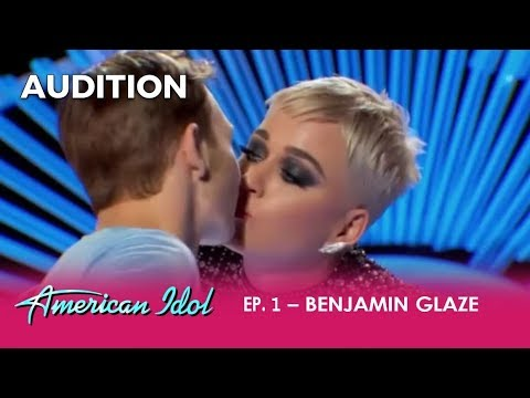 Boy Gets His First KISS Ever From Katy Perry - But Is It a Death Kiss? | American Idol 2018