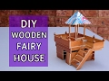 Simple Wooden House #8: diy projects | Crafts ideas