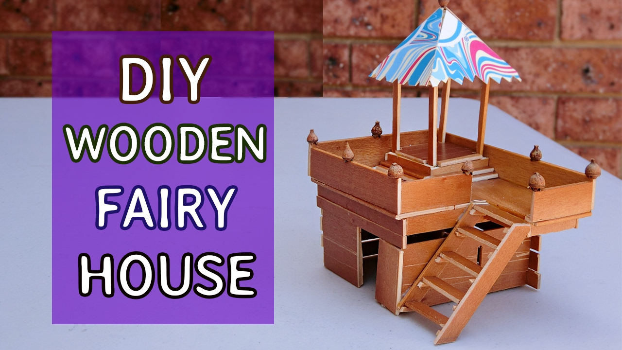 Simple Wooden House 8 Diy Projects Crafts Ideas Youtube