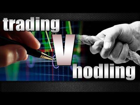 Trading vs Hodling