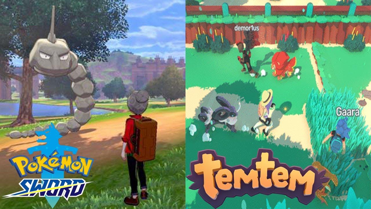 """Image result for pokemon vs tem tem"""""""