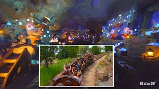 Seven Dwarfs Coaster Dark Ride 2020 - Disney Park - Magic Kingdom Theme Park