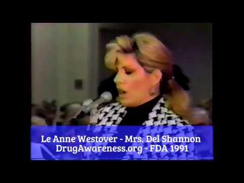 Le Anne Westover - Mrs. Del Shannon - FDA 1991
