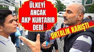 Ak Partili Vatandaşlara EKONOMİ ve ZAMLARIN SEBEBİNİ Sorduk !!! Görüşler...