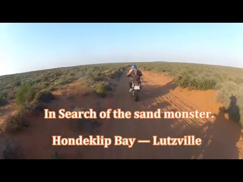 In search of the sand monster - Hondeklip Bay to Lutzville, South Africa