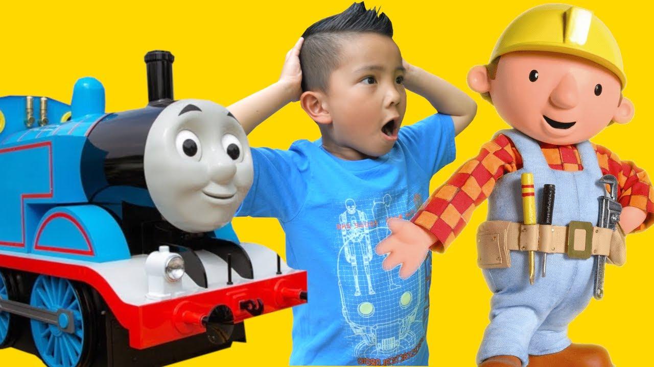 Thomas and Bob The Builder Theme Park Fun CKN