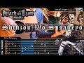 Attack on Titan - Shinzou wo Sasageyo - Fingerstyle Guitar Cover + TAB Tutorial & Chord