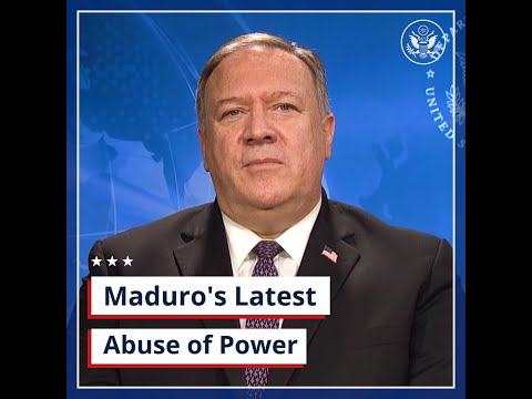U.S. Department of State: Maduro's Latest Abuse of Power