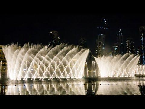 amazing-dancing-fountain-show-dubai-~-the-dubai-mall-2020-!!