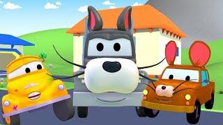 Oficina de Pintura do Tom: TOM e JERRY | Desenhos animados de caminhão para crianças