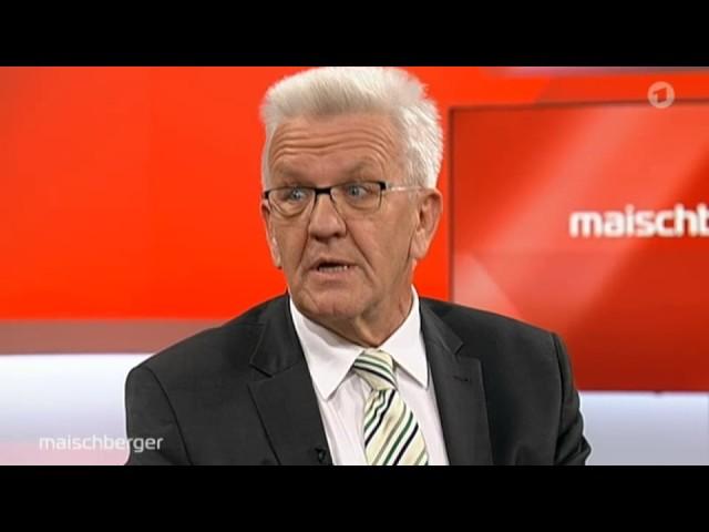 Winfried Kretschmann – der Grüne, den die Schwarzen lieben?