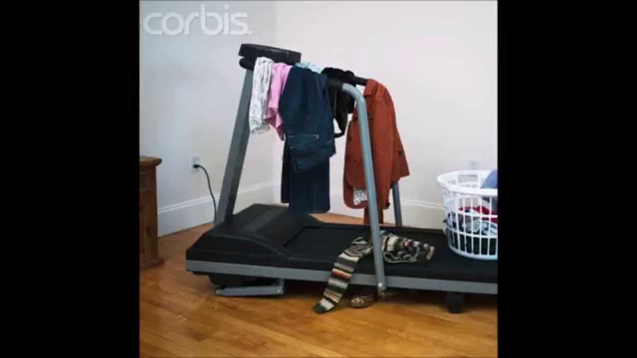 Image result for treadmill clothes hanger