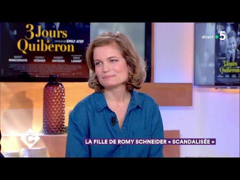 La fille de Romy Schneider
