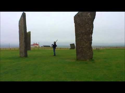 Piper plays in mysterious stone circles.