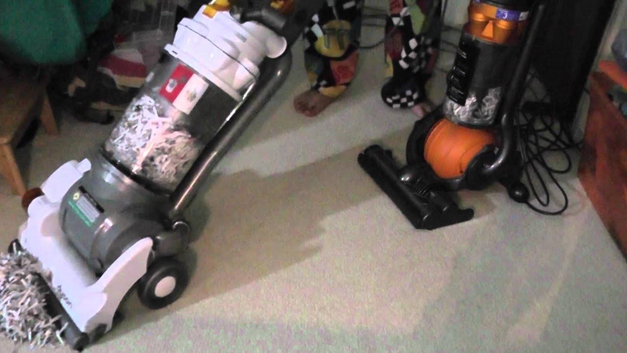 Dyson DC 25 Multi Floor VS Dyson DC 14 Full Kit Vacuum Cleaners Part 2