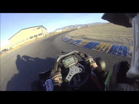 First Day with my New Go Kart at Grand Junction Motor Speedway