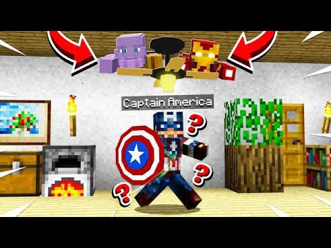HIDE FROM THE AVENGERS! END GAME HIDE & SEEK CHALLENGE!