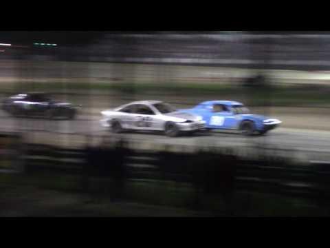 Merritt Speedway 4 Cylinder B Main 7/2/17 Stands