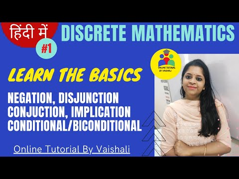 Discrete mathematics in hindi-Introduction of Discrete maths logic connective truth table in hindi-1 thumbnail