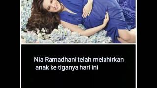 Nia Ramadhani melahirkan anak ke 3