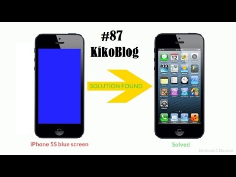 blue screen on iphone iphone 5s blue screen solution easy fix and fix 87 13684
