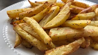 Perfect Airfryer  French Fries from Potato recipe how to make 100% LOW FAT  with Raihana's Cuisines